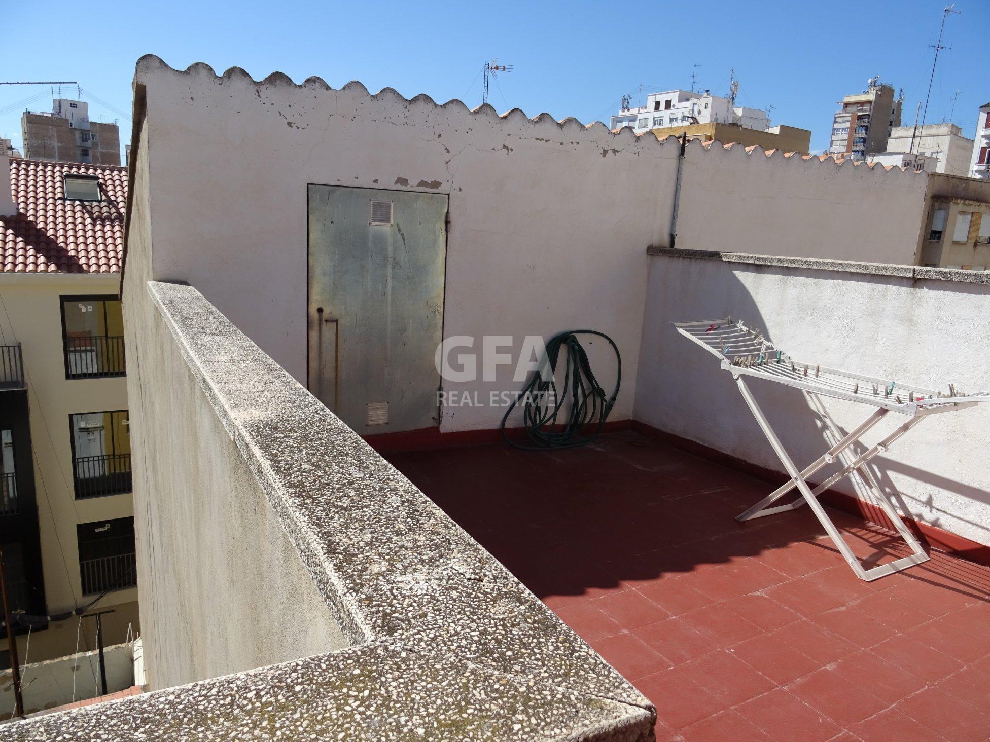 Terraza2  - Piso en venta en Castellón