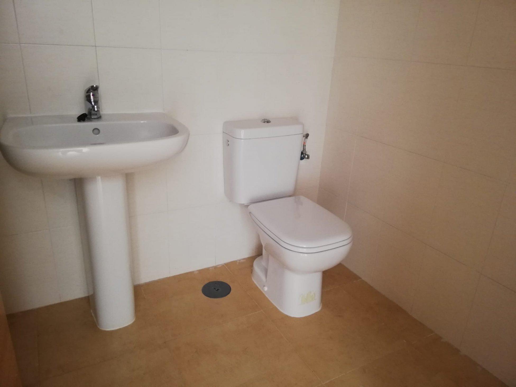 Baño apartamento Condado de Alhama
