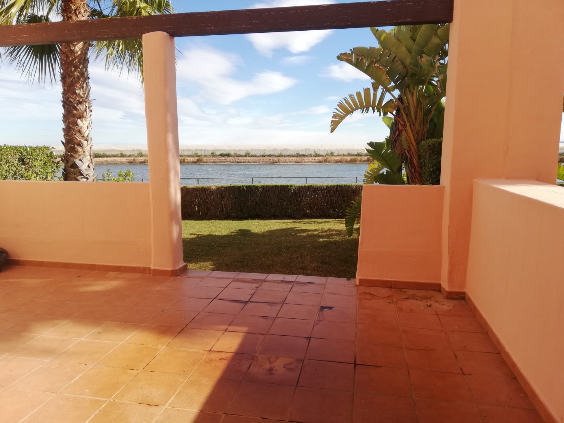 Vistas terraza apartamento Condado de Alhama