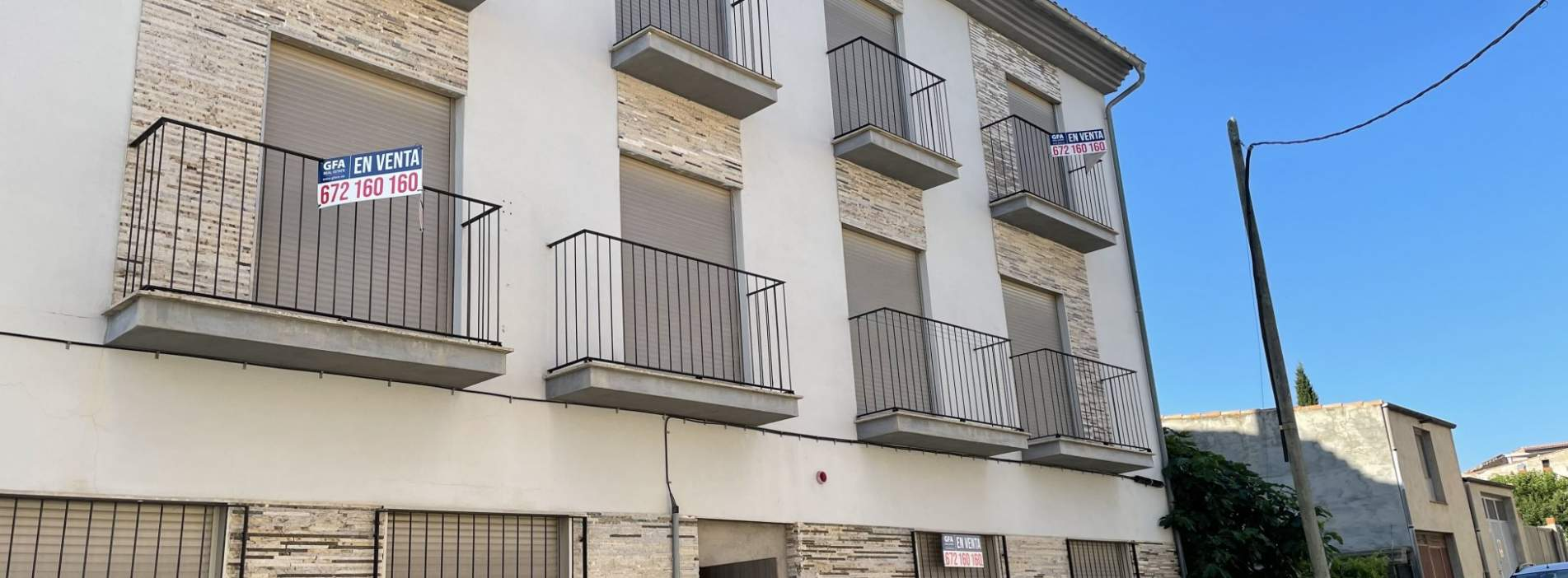Viviendas de reciente construcción a la venta en Albocacer, Castellón.
