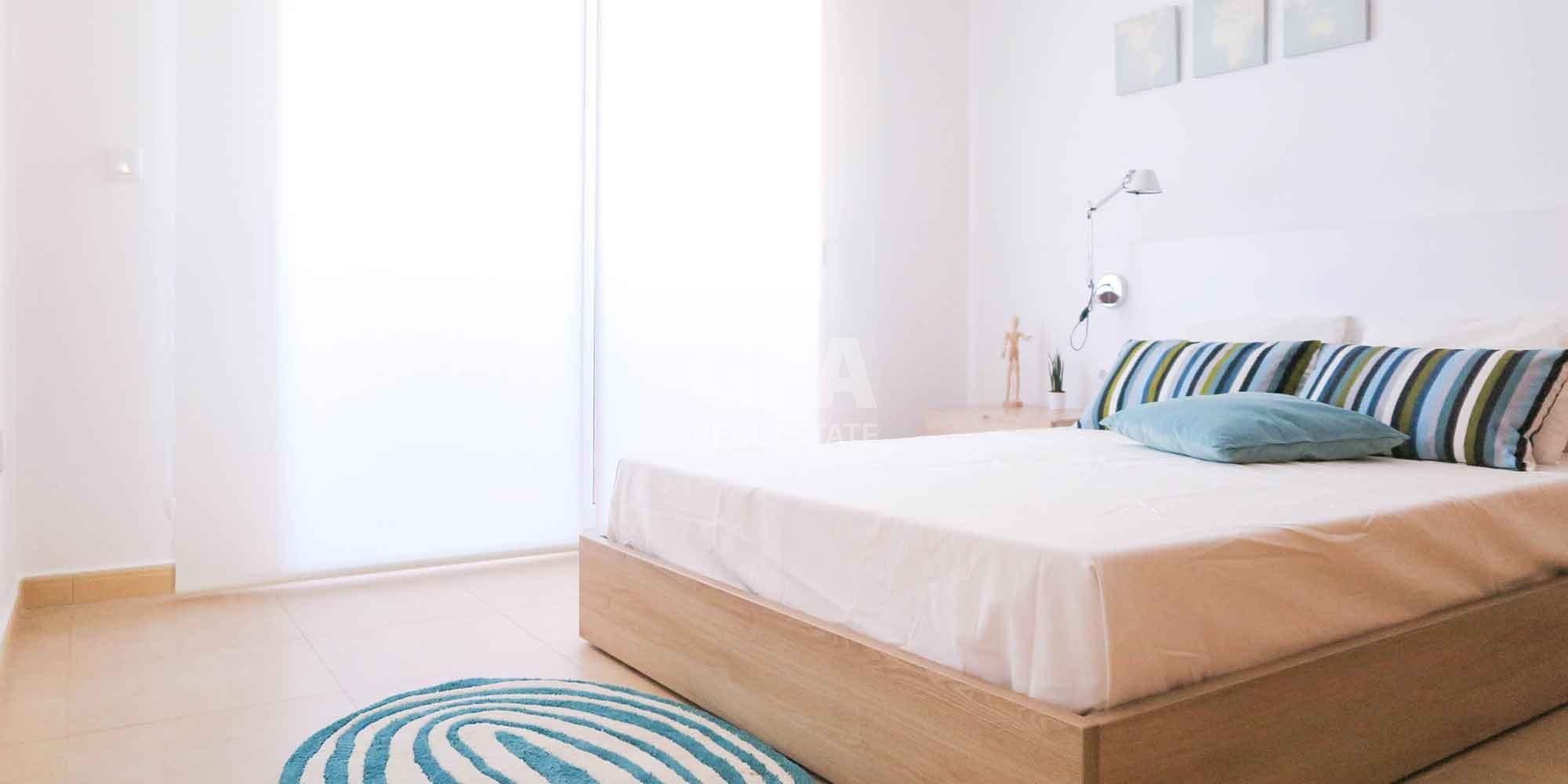 Residencial obra nueva Mar Menor Golf Resort dormitorio