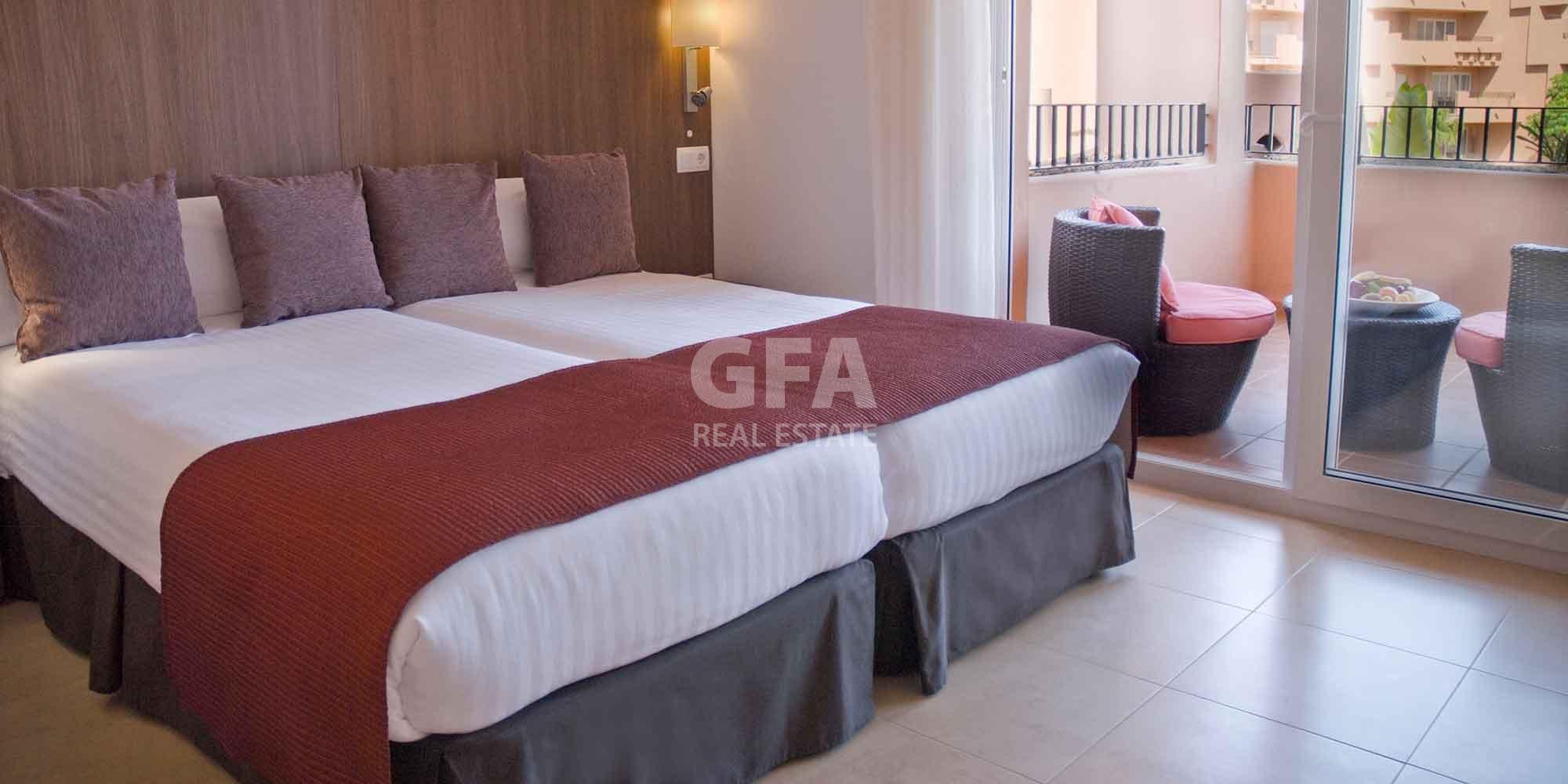 Residencial obra nueva Mar Menor Golf Resort habitación de matrimonio