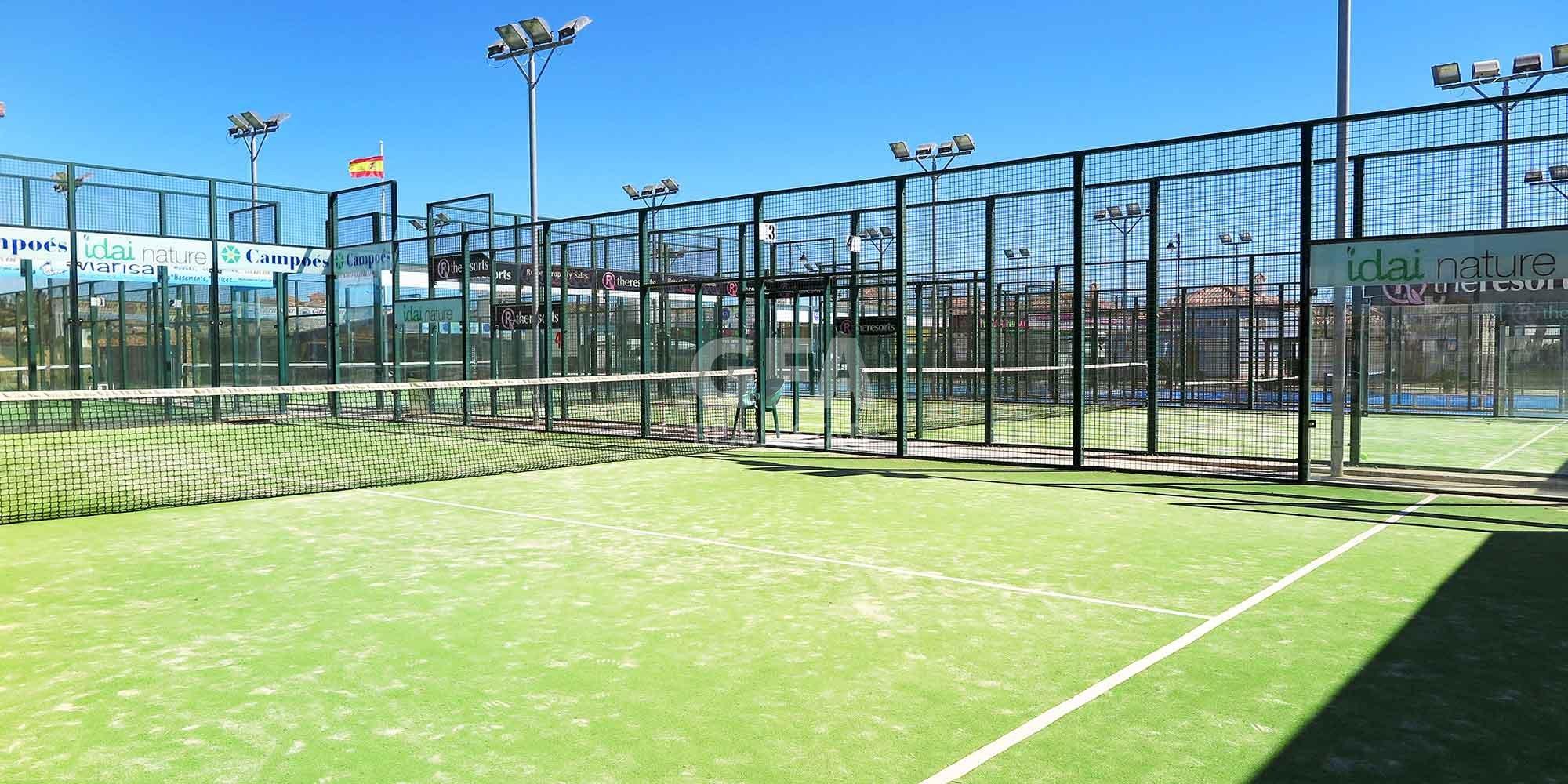 Residencial obra nueva Mar Menor Golf Resort  pista de pádel