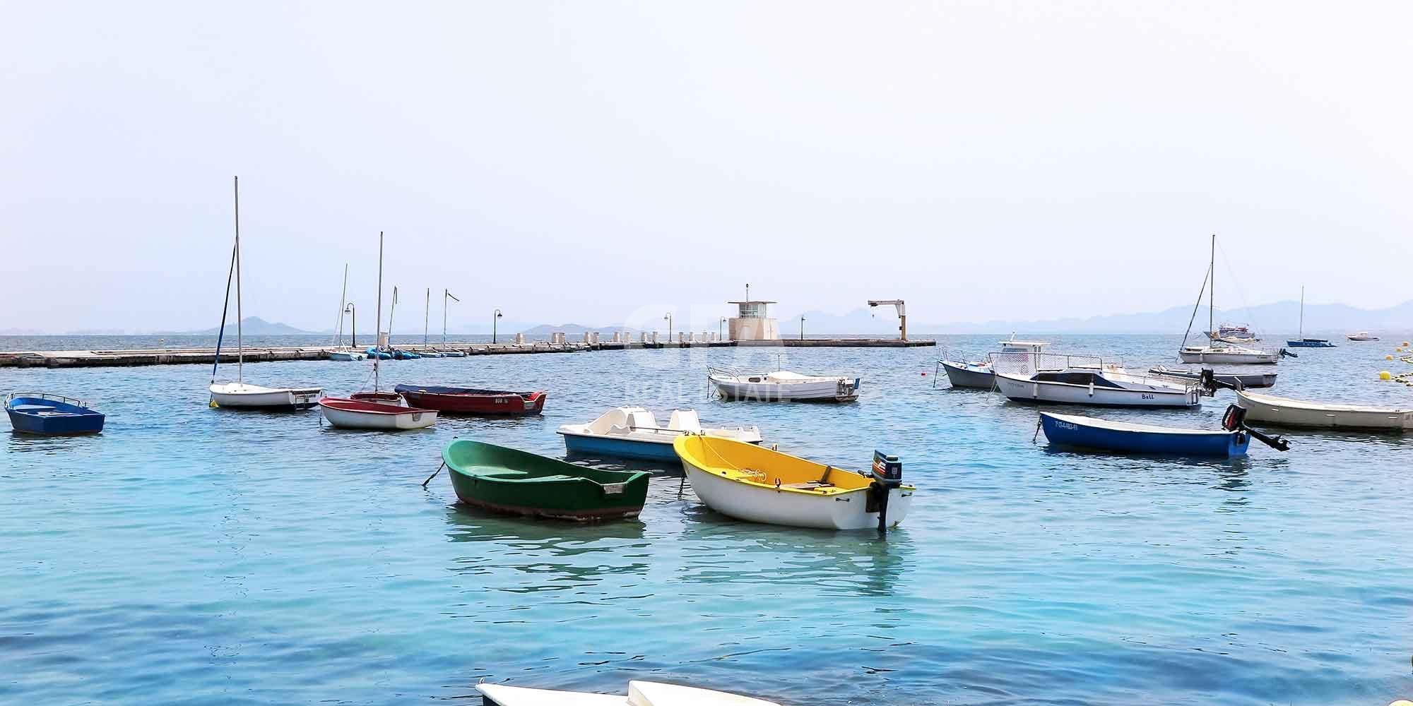 Residencial obra nueva Mar Menor Golf Resort puerto mar menor