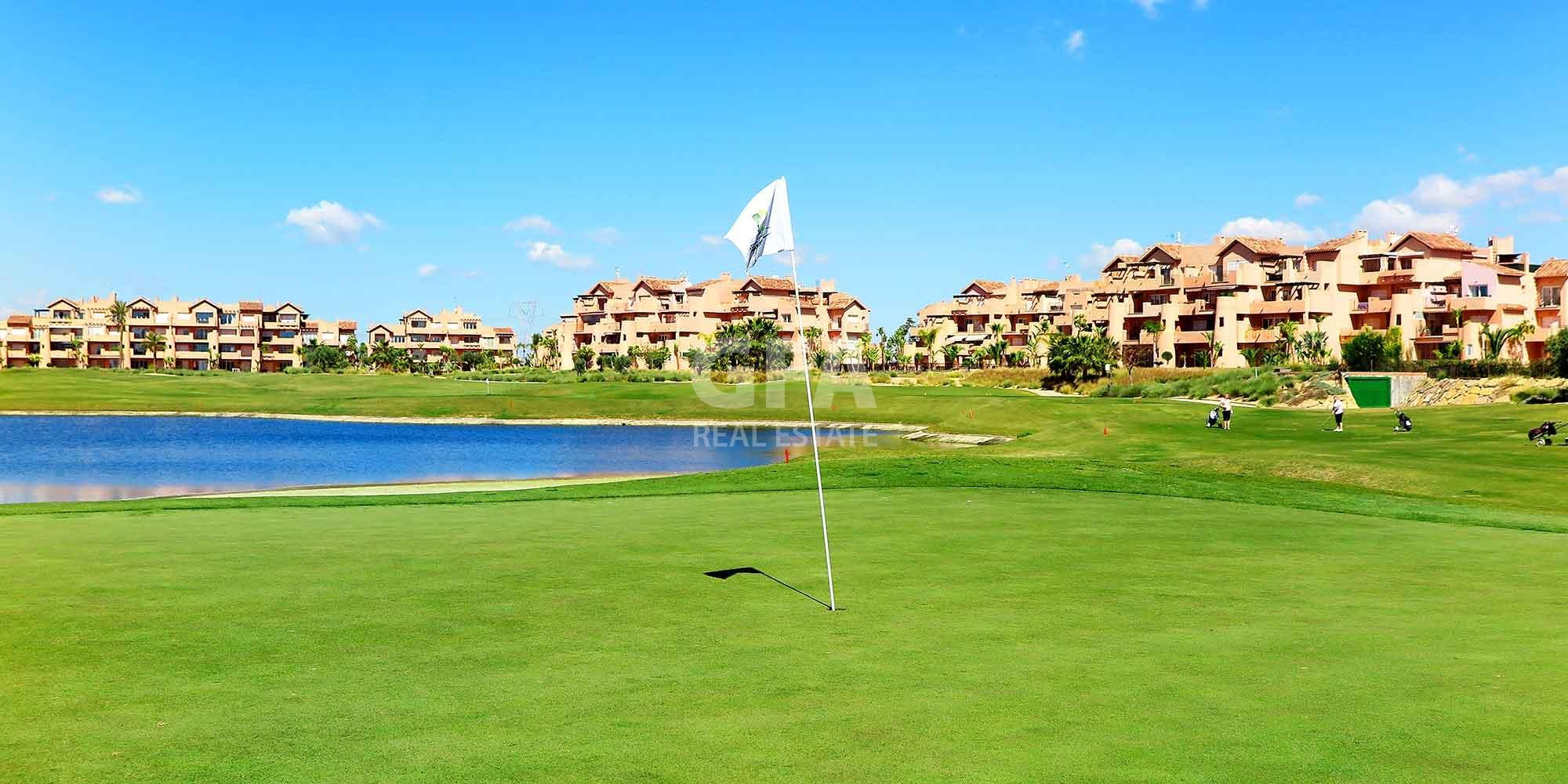 Mar Menor Golf Resort hoyo campo golf