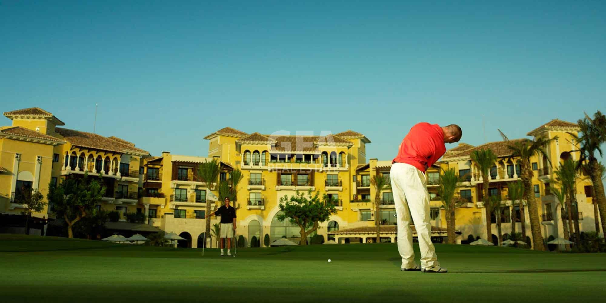 Residencial obra nueva Mar Menor Golf Resort Golf