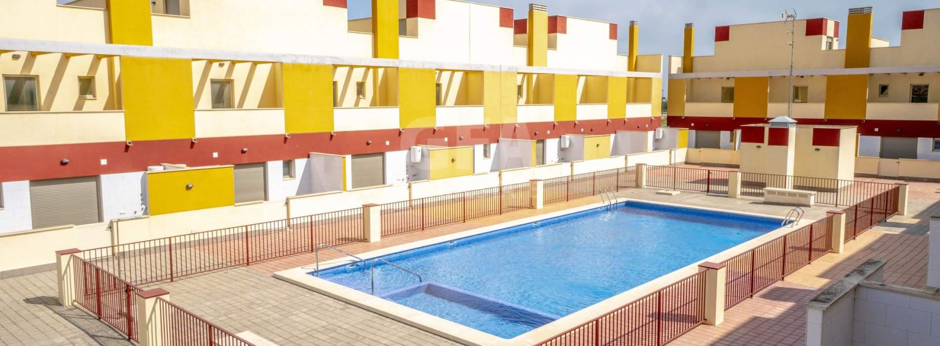Adosados de obra nueva en venta en Los Alcázares,  Mar Menor