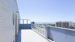 Residencial Veles Blanques de obra nueva en Moncófar terraza