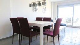 Residencial Veles Blanques de obra nueva en Moncófar salón comedor